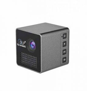 """DLP Wi-Fi Home Cinéma Projecteur Coupe du Monde Portable Projector Smart Mini LED Vidéo Beamer 30 Lumen 1080p HD avec 70 """"Affichage Vidéo multimédia pour la maison, Business, Camping de la marque WWSUNNY image 0 produit"""