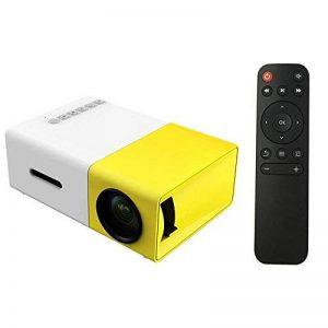 Docooler FW1S YG300 Mini LED Projecteur 1080P Projection Machine avec USB HDMI AV Télécommande pour Smartphone PC Portable de la marque Docooler image 0 produit