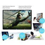 Docooler H150 150 '' écran de Projection Portable HD 16: 9 Blanc 150 Pouces Diagonale écran de Projection Pliable Home cinéma pour la Projection Murale à l'intérieur en Plein air de la marque Docooler image 2 produit