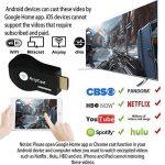 Dongle d'affichage sans fil de Wifi de Yehua, adaptateur de HDMI, récepteur de transmetteur de bâti de vidéo, médias de la HD 1080p de partage, soutien DLNA / Airplay / Miracast pour le projecteur / IOS / Mac / androïde / Windows de la marque Yehua image 4 produit
