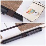 Dotted Bullet Journal/Carnet Pointillé - Lemome Écologique - Reliure en Grès Naturel - Reliure à Grille avec Boucle à Stylo - Papier Epais Premium (125g/m²) - Cahier Relié A5 (5x8In) de la marque Lemome image 4 produit