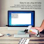 douchette code barre sans fil avec mémoire TOP 8 image 4 produit