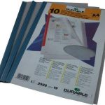 Durable 292619 Chemise Polypro pour Reliure Manuelle A4 Transparent Sachet de 10 de la marque Durable image 1 produit