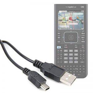 Duragadget Câble USB de synchronisation pour Texas Instruments TI 89 Titanium, HP Prime Calculatrices Graphiques - Transfert de données Calculatrice Non fournie de la marque Duragadget image 0 produit
