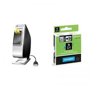 Dymo LabelManager PnP Plug and Play Étiqueteuse de Bureau + D1 Étiquettes Standard 12 mm x 7 m - Noir sur Transparent de la marque DYMO image 0 produit