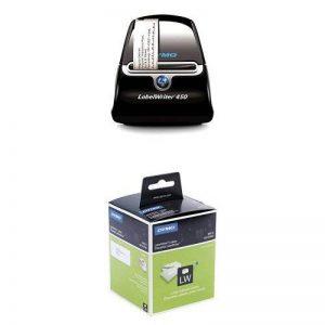 Dymo LabelWriter 450 Imprimante d'Étiquettes USB + 12 Rouleaux de 260 Étiquettes d'Adresse Grand Format, 36 mm x 89 mm de la marque DYMO image 0 produit