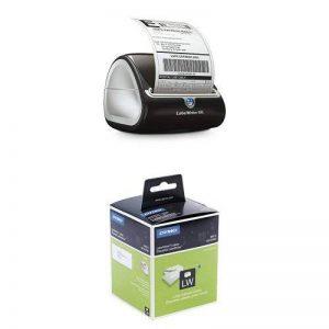 Dymo LabelWriter 4XL Imprimante d'Étiquettes USB (avec prise EU) + 10 Rouleaux de 260 Étiquettes d'Adresse Grand Format, 36 mm x 89 mm de la marque DYMO image 0 produit
