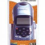 Dymo LetraTag LT-100H Plus Étiqueteuse Portable avec support mural aimanté + Dymo LetraTag Ruban Plastique 1,2 cm x 4 m - Noir sur Blanc de la marque image 1 produit
