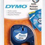 Dymo LetraTag LT-100H Plus Étiqueteuse Portable avec support mural aimanté + 2 Rubans LetraTag Plastique 1,2 cm x 4 m - Noir sur Blanc de la marque image 2 produit