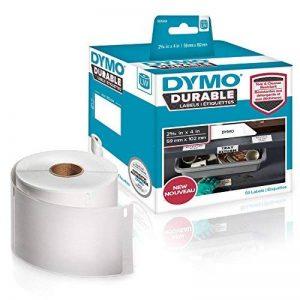 DYMOLW Étiquettes résistantes pour étiqueteuses LabelWriter , plastique blanc, 59x 102mm, rouleau de50 (1976414) de la marque DYMO image 0 produit