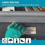 DYMOLW Étiquettes résistantes pour étiqueteuses LabelWriter , plastique blanc, 59x 102mm, rouleau de50 (1976414) de la marque DYMO image 1 produit