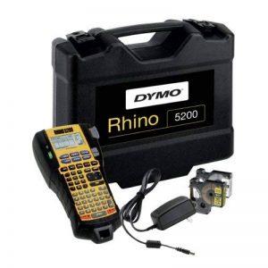 Dymo Rhino 5200 Étiqueteuse Professionnelle Électronique Portable Clavier ABC - Kit avec Malette de Transport de la marque DYMO image 0 produit