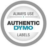 Dymo Rhino Etiquettes Industrielles Vinyle 9mm x 5,5m - Noir sur Blanc de la marque DYMO image 2 produit