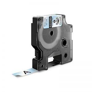 Dymo Rhino Étiquettes Industrielles Polyester Permanent 12mm x 5,5m - Noir sur Transparent de la marque DYMO image 0 produit