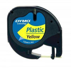 DYMO S0721570 Etiquettes Noir, Jaune de la marque DYMO image 0 produit