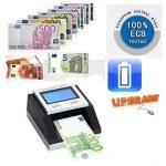 EasyCount Compteuse de billets avec vérification et détection des faux billets, 100 % fiable BCE, déjà actualisée pour les nouveaux billets de 10et 20euros de la marque cassadiretto.it image 2 produit