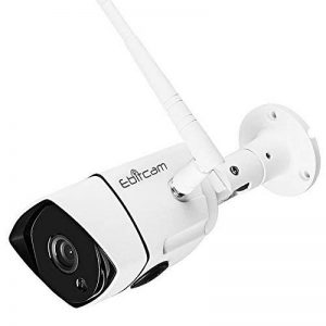 Ebitcam 1080P HD WiFi Caméra IP Extérieur,Caméra de Sécurité sans Fil,Etanche IP66,Vision Nocturne,Détection de Mouvement,Image en Temps réel Lisse de la marque image 0 produit