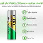 EBL 23A Piles Ni-Mh Batterie Longue Durée de Conservation (23A Piles*10) de la marque EBL image 1 produit