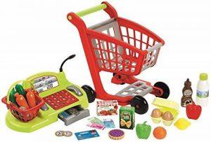 Ecoiffier - Jeux d'imitations - Supermarché - Chariot Garni, Caisse enregistreuse et Stand du Maraîcher de la marque Jouets Ecoiffier image 0 produit