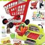 Ecoiffier - Jeux d'imitations - Supermarché - Chariot Garni, Caisse enregistreuse et Stand du Maraîcher de la marque Jouets Ecoiffier image 1 produit