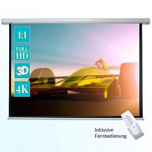 Ecran de projection motorise ivolum 240 x 240 cm, Ecran de projection Format 1:1, Ecran de projection Home Cinema, Ecran de projection pour videoprojecteur, Ecran de projection 3D, Ecran de projection motorise, Ecran de projection electrique de la marque image 0 produit