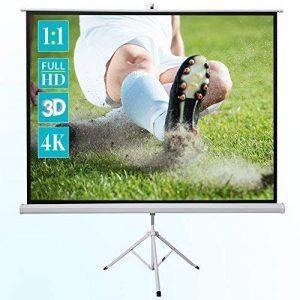 Ecran de projection sur pied ivolum 200 x 200 cm, Ecran de projection Format 1:1, Ecran de projection Home Cinema, Ecran de projection pour videoprojecteur, Ecran de projection 3D, Ecran de projection Full HD, Ecran de projection mobile, Ecran de projecti image 0 produit