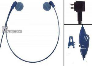 Ecs Whucdap Wordhear-o Under-Chin Transcription Casque pour Dictaphone de la marque ECS image 0 produit