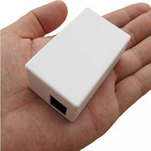 Electro-Weideworld - RJ11 Adaptateur Téléphone Voix Enregistreur Espion Bug SD Card Enregistreur Tous Les Appels de la marque Electro-weideworld image 0 produit