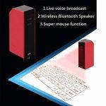 ELEGENCE-Z Clavier De Projection, Portable Rouge Clavier Virtuel De Projection Connexion Bluetooth Souris sans Fil Direct Voix Mobile Tablet PC De Diffusion (78 * 38 * 25) de la marque ELEGENCE-Z image 3 produit