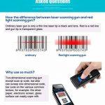 Elikliv Eyoyo Mini Scanner Portable Sans Fil Bluetooth 4.0 CCD QR Reader 2D Barcode, Lecteur de codes barres pour Apple iOS Android Windows de la marque Eyoyo image 2 produit