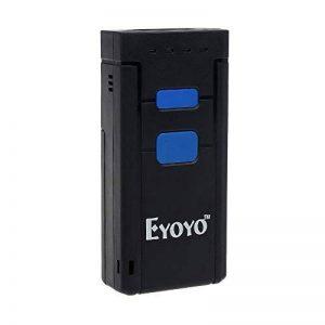 Elikliv Eyoyo Mini Scanner Portable Sans Fil Bluetooth 4.0 CCD QR Reader 2D Barcode, Lecteur de codes barres pour Apple iOS Android Windows de la marque Eyoyo image 0 produit