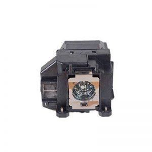 ELPLP67lampe de rechange avec boîtier pour vidéoprojecteur Epson EH-TW480Eb-c30X Eb-s12Eb-s12+ Eb-s100Eb-x100Eb-c05s Eb-c10se Eb-c15s Eb-c20X Eb-c215s Eb-c240X Eb-c25X E Eb-c26sh Eb-c26X E Eb-c28sh Eb-c30X Eb-c30X E Eb-c30X H Eb-c340X Eb-c3 image 0 produit