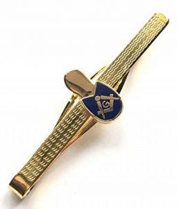 en boîte de cadeau maçonnique CHAUSSURE / ANCIENNE pantoufle émail crêtéépingle à cravate (N353) de la marque Emblems-Gifts image 0 produit