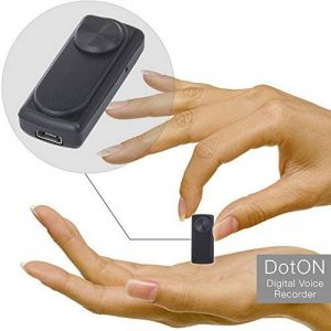 Enregistreur audio espion - Fonction d'Activation Vocale - Capacité de 90 heures sur 8 Go de mémoire - Batterie de 20 heures - dotON by aTTo digital de la marque aTTo digital image 0 produit