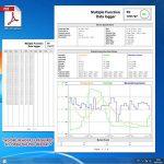 Enregistreur numérique USB Humidité / Température / Pression Baromètre enregistreur de données, Plug and play, Générer PDF et Excel, 6 langues, pHa, inHg, ℉, ℃ et HR de la marque TekcoPlus image 4 produit