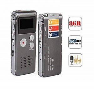 Enregistreur Numérique Vocal Voix Dictaphone 8 GB Go USB MP3 de la marque Vicloon image 0 produit