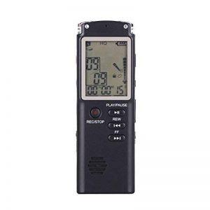 Enregistreur vocal, Chengstore 8Go Audio son Enregistreur portable dictaphone Activation vocale Enregistreur avec lecteur MP3A-B répétition de réduction du bruit d'enregistrement HD de la marque Chengstore image 0 produit