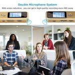 Enregistreur vocal numérique de Aurtec, 8 Go 384Kbps Audio Dictaphone enregistreur audio avec lecteur USB et MP3, activé par la voix, double microphone, boîtier métallique, or de la marque AURTEC image 4 produit
