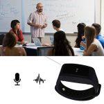 enregistreur vocal numérique de bracelet,eoqo® bracelet 8 Go activé par la voix,Enregistreur audio à annulation de bruit pour les conférences, réunions, cours, entrevues (Noir) de la marque eoqo image 3 produit