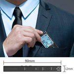 Enregistreur vocal numérique, DREAMRY 8GB 1536Kbps USB Audio Enregistreur audio Enregistrement HD portable multifonctionnel Double Microphone Rechargeable Dictaphone Annulation/Voix activée/écran de la marque DREAMRY image 1 produit
