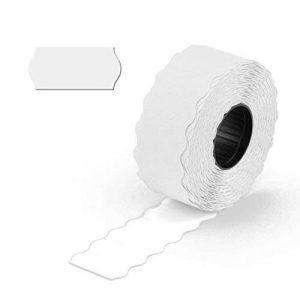 Epo52 9 000étiquettes blanc, pour étiqueteuse à main 1ligne, adhésion permanente, 26x 12mm, 6rouleaux = 9 000étiquettes [E1/Blanc] de la marque Inconnu image 0 produit