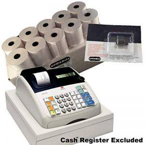 eposbits® Marque 20rouleaux + 1x Cartouche d'encre pour Olivetti ECR7100ECR 7100Caisse enregistreuse de la marque EPOSBITS image 0 produit