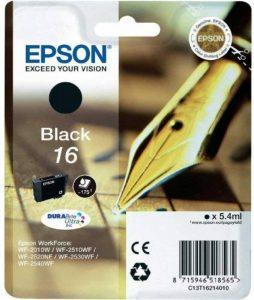 Epson - C13T16214010-16 Cartouche d'encre - Noir de la marque Epson image 0 produit