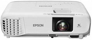 """Epson EB-S39 Projecteur de Bureau 3300ANSI lumens 3LCD SVGA (800x600) Blanc vidéo-projecteur - Vidéo-projecteurs (3300 ANSI lumens, 3LCD, SVGA (800x600), 15000:1, 4:3, 762 - 8890 mm (30 - 350"""")) de la marque Epson image 0 produit"""