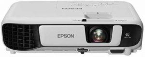 """Epson EB-S41 Projecteur de Bureau 3300ANSI lumens 3LCD SVGA (800x600) Blanc vidéo-projecteur - Vidéo-projecteurs (3300 ANSI lumens, 3LCD, SVGA (800x600), 15000:1, 4:3, 762 - 8890 mm (30 - 350"""")) de la marque Epson image 0 produit"""