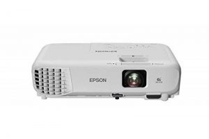 """Epson EB-W05 Projecteur de bureau 3300ANSI lumens 3LCD WXGA (1280x800) Blanc vidéo-projecteur - Vidéo-projecteurs (3300 ANSI lumens, 3LCD, WXGA (1280x800), 15000:1, 16:10, 838,2 - 8128 mm (33 - 320"""")) de la marque Epson image 0 produit"""