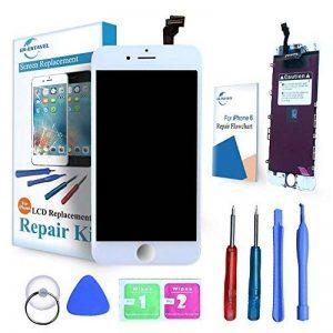 """ER-ESTAVEL Vitre Tactile LCD compatible pour iPhone 6 Blanc Ecran Réparation inclus Gratuit Outils(4,7"""") de la marque ER-ESTAVEL image 0 produit"""