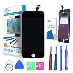 """ER-ESTAVEL Vitre Tactile LCD compatible pour iPhone 6 Noir Ecran Réparation inclus Gratuit Outils(4,7"""") de la marque ER-ESTAVEL image 0 produit"""
