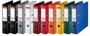 Esselte lot de 10 Classeurs Couverture Plastique, A4, Dos 7,5cm, Couleurs Assorties, Standard, 624177 de la marque Esselte Group image 0 produit