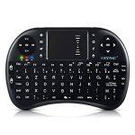 ESYNiC Mini Clavier Rétroéclairé AZERTY Avec Trackpad Télécommande Tactile Androïde pour Dongle Box Android TV Tivo HTPC IPTV Talette PC Raspberry Pi Console VidéoProjecteur de la marque eSynic image 3 produit